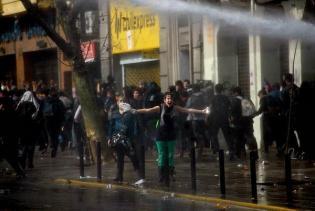 Aksi Pelajar Mahasiswa Chile 08