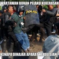 Meme Tolak Kekerasan Kepolisian - Tolak Penaikan Harga BBM 02