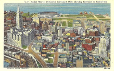 "Cleveland's downtown ""Group Plan"""