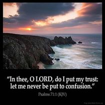 Psalms_71-1: In thee, O Lord, do I put my trust: let me never be put to confusion