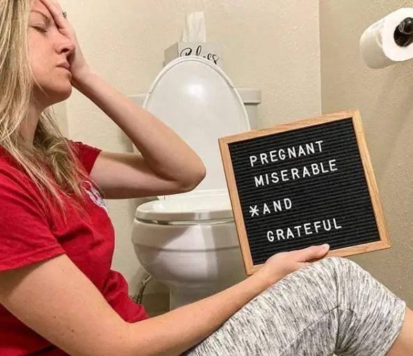 Pregnant: Miserable & Grateful