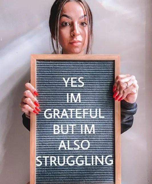 I'm Grateful But I'm Also Struggling