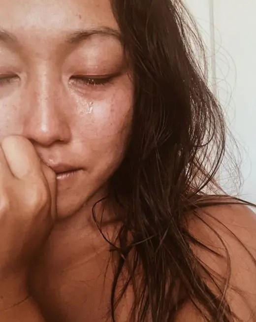 A flood of emotion around gratitude and worry