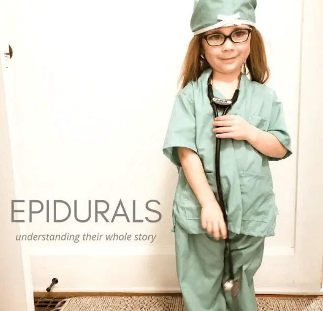 UNDERSTANDING THE EPIDURAL