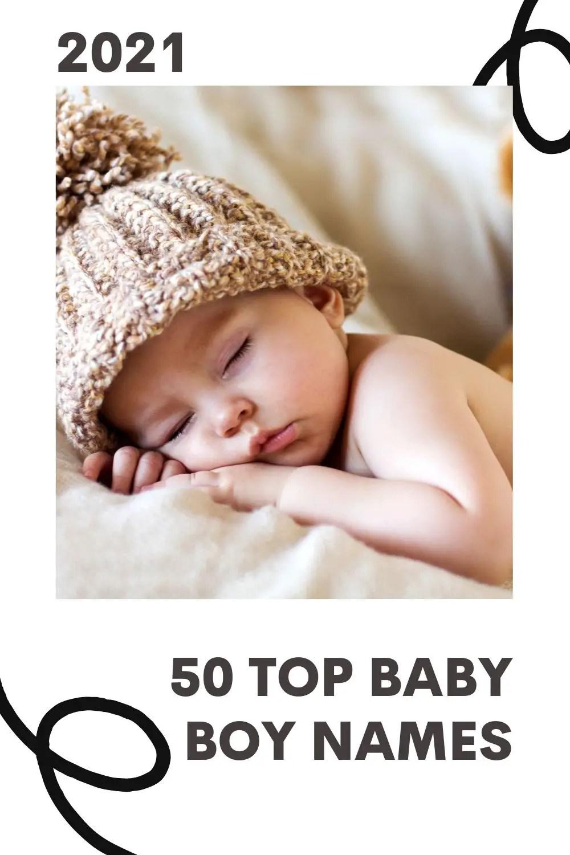 50 Top Baby Boy Names of 2021