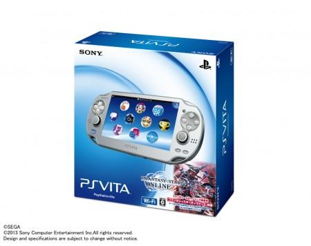 Vita PSO2 Ice Silver Bundle