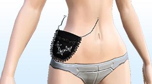 Gothic Lace Belt