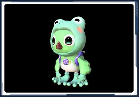 Frog Rappy Suit