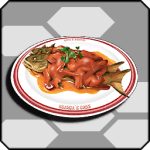 Forest Tomato Simmered Sweatfish