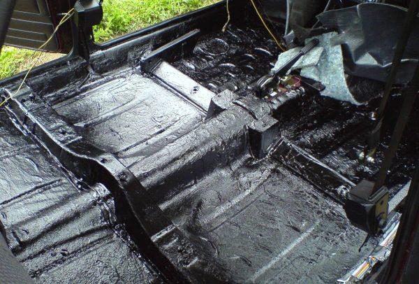 Treatment of bitumen