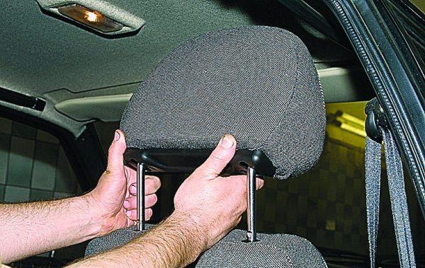 Headrests of seats