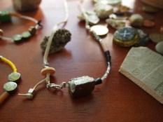 Tumbleblock necklacees