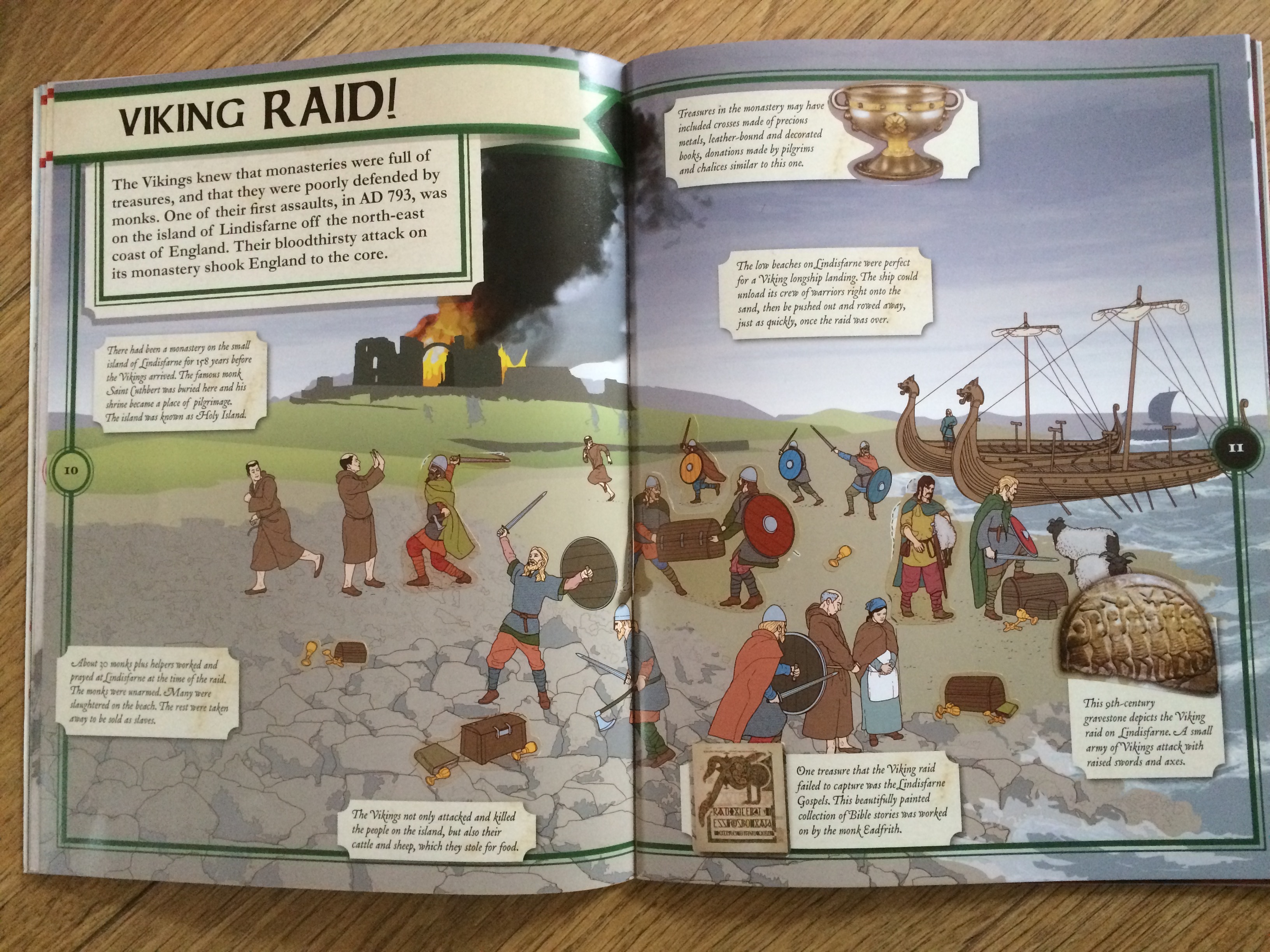 Anglo Saxons And Vikings Bumpsbooksandbeyond