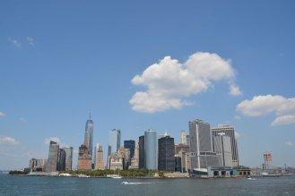 Mit der Staten Island Ferry hat man tolle Aussichten