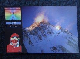 Francois, K2 Besteigung
