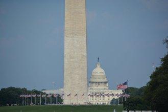 Washington Monument und Capitol