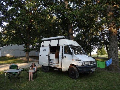 das erste Mal auf einem Campingplatz