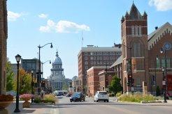 Regierungsgebäude in Springfield