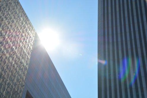 Heißes Wetter in Tulsa