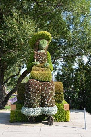 Pflanzen-Skulpturen
