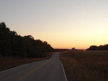 Die Route 66 verläuft direkt neben der Interstate