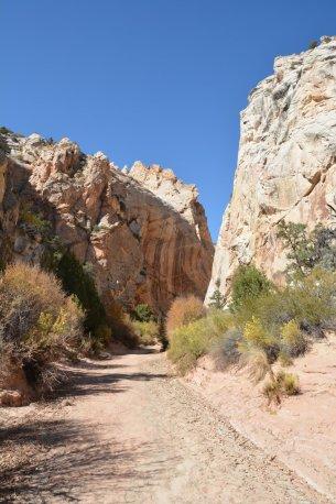 Eine kleine Canyon-Wanderung