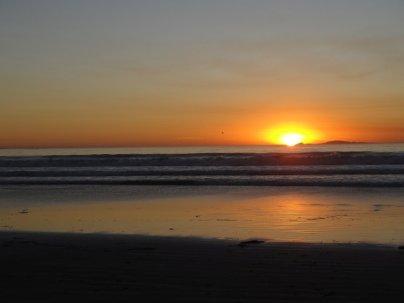 Erster Sonnenuntergang in Mexiko