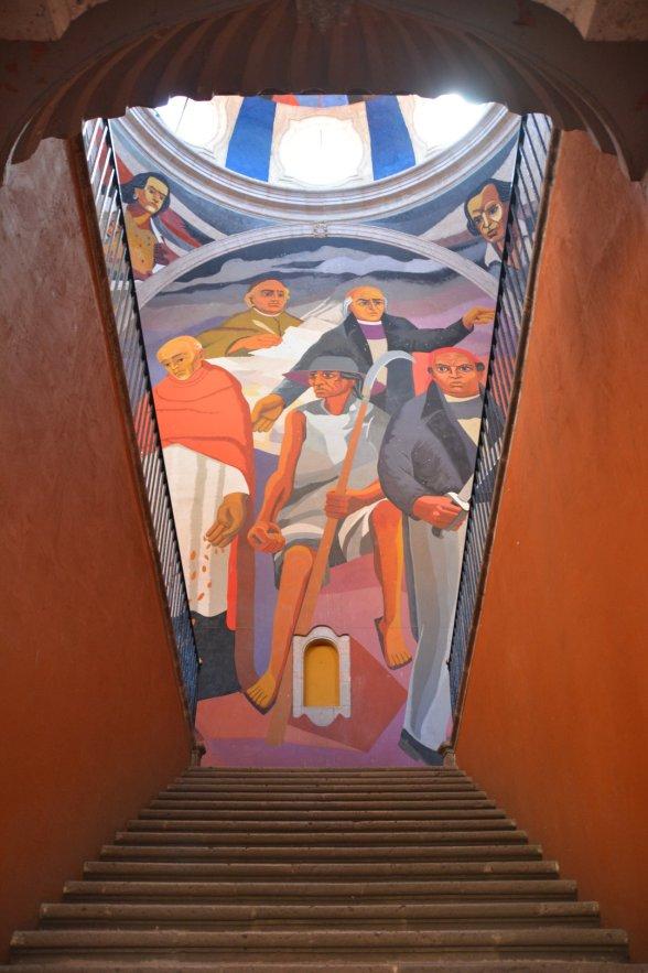 Wandgemälde im Centro Cultural
