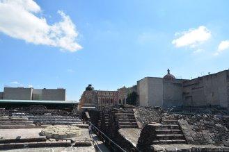 Ruinen der einstigen Atztekenmetropole Tenochtitlán
