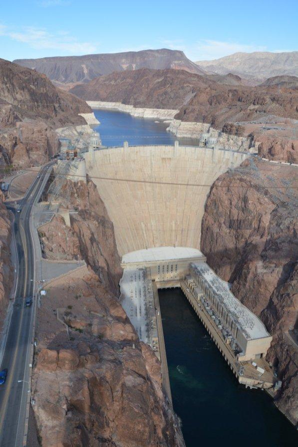 Der Hooverdam - versorgt auch die Springbrunnen von Las Vegas