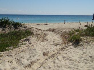 Der Sand war dann doch tiefer als gedacht