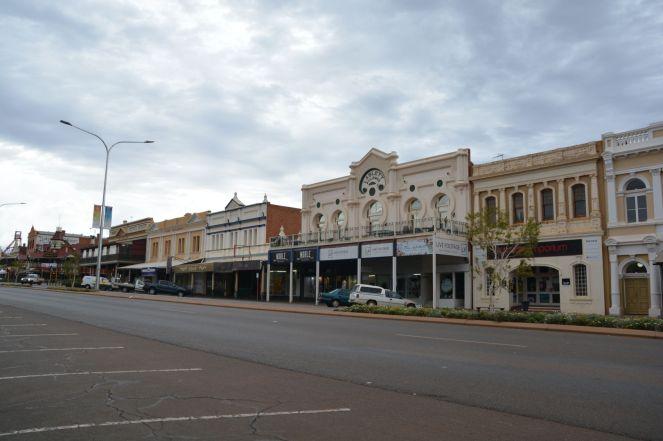 Innenstadt von Kalgoorlie