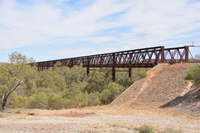 Die längste Brücke Australiens - heute ungenutzt