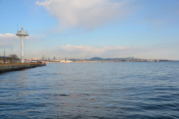 Parkplatz direkt am Marmarameer
