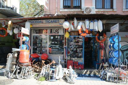 Lustiges Verkaufsviertel