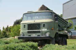IFA W50 mit Raketenwerfer - die DDR scheint auch im Iran präsent