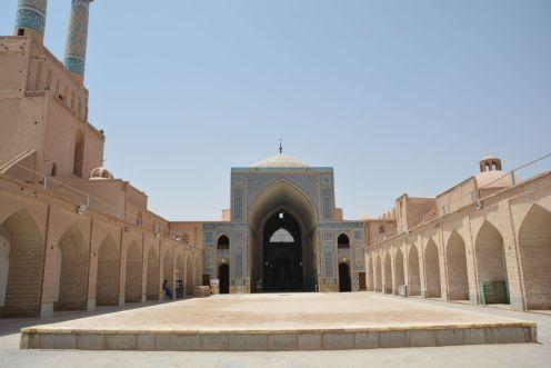 Innenhof Jawe-Moschee