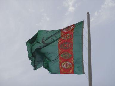 Landesflagge Turkmenistan
