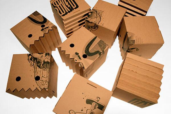 уникальная упаковка из картона