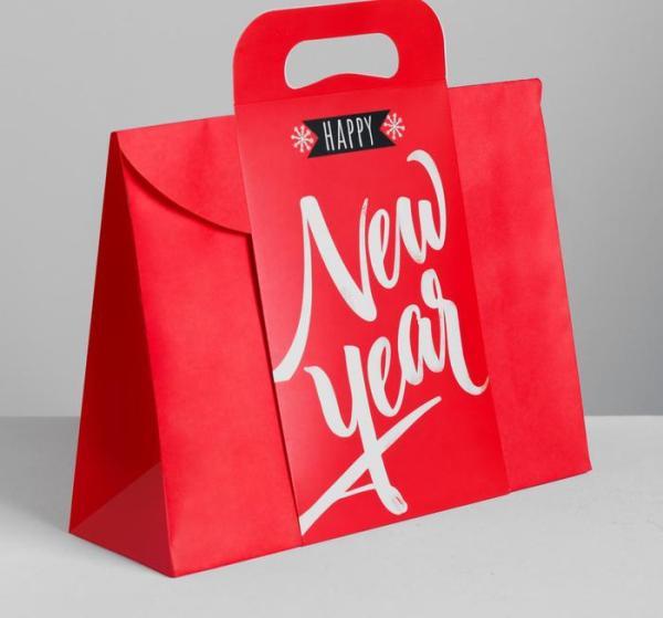 Пакет подарочный Happy New Year