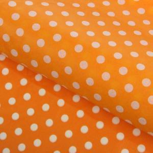 """Бумага упаковочная тишью """"Горох"""", оранжевый"""