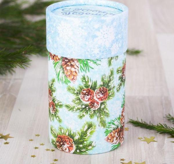 Коробка подарочная «Зимний лес»