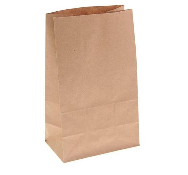 Пакет крафт бумажный