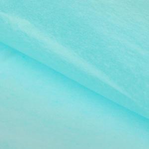 Бумага упаковочная тишью голубая