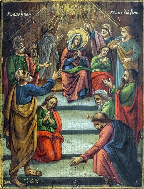 Duminica Rusaliilor-Predica Pr.Visarion Iugulescu