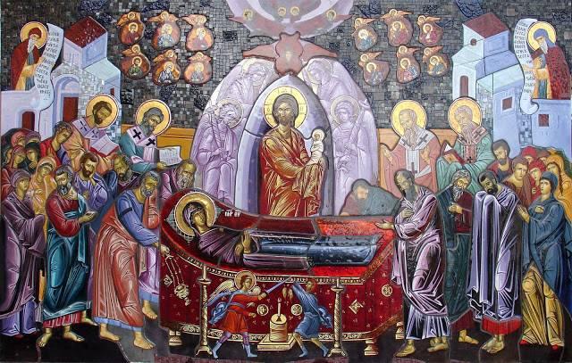 Adormirea Maicii Domnului in iconografie