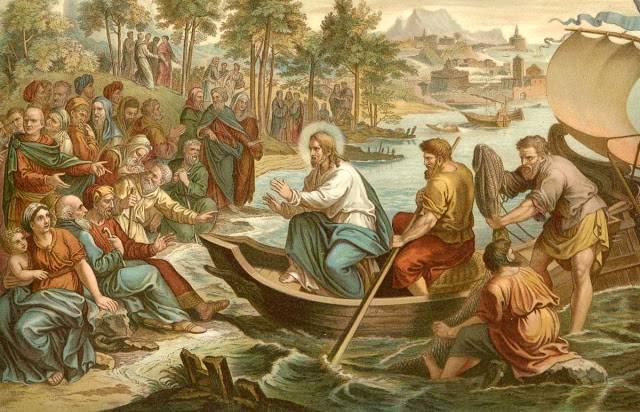 pilda pescuirea minunata