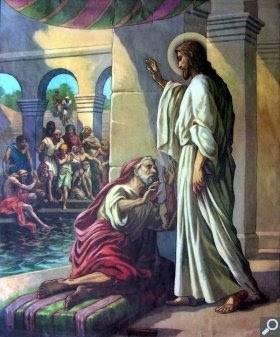 Evanghelia despre minunea de la scaldatoarea- Vitezda Duminica a IV a dupa Pasti