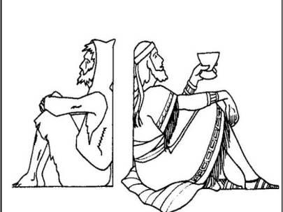 Duminica a XXII a dupa Rusalii-Bogatul nemilostiv si saracul Lazar