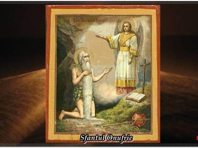 Minunata pruncie a Sfântului Onufrie cel Mare